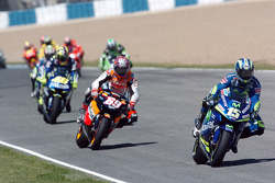 Sete Gibernau leads the field