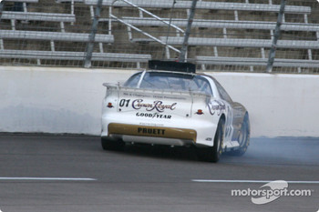 Scott Pruett spins