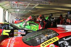 NASCAR Cup Garage area