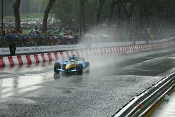 Giancarlo Fisichella drives the Renault F1