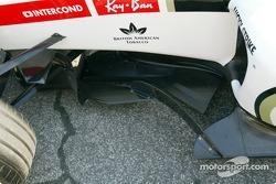 Detail of the BAR-Honda