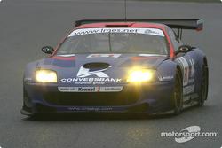 #61 Convers Team Ferrari 550M: Nicolaj Fomenko, Alexei Vasiliev, Christophe Bouchut