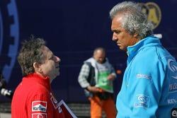 Jean Todt and Flavio Briatore