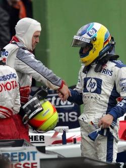 Ralf Schumacher and Nick Heidfeld