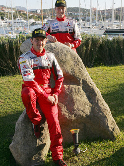 Mitsubishi Motors Motor Sports: Harri Rovanpera and Gianluigi Galli