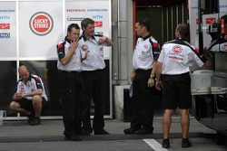 BAR-Honda team members out of work