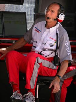Toyota race engineer Humphrey Corbett