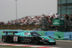 Second place for #9 Vitaphone Racing Team Maserati MC 12 GT1: Timo Scheider, Michael Bartels