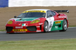 #86 G.P.C. Sport Ferrari 360 Modena: Gabrio Rosa, Luca Drudi