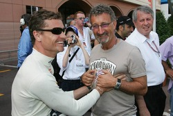 David Coulthard and Eddie Jordan