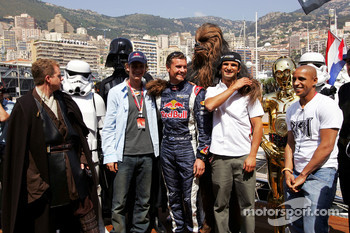 David Coulthard, Vitantonio Liuzzi and friends