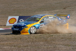 Grant Denyer runs wide at Turn Three