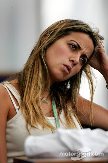 Rafaela Bassi, girlfriend of Felipe Massa