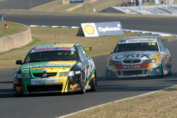 Alex Davison and Anthony Tratt battle it out for the minor placings