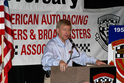 AAWRBA breakfast: Michael Knight, winner of the Bob Russo Founders Award