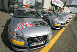 Audi pace cars ready to go