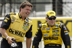 Matt Kenseth with crew chief Robbie Reiser