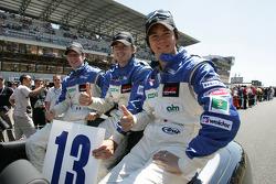 Jonathan Cochet, Bruce Jouanny and Shinji Nakano