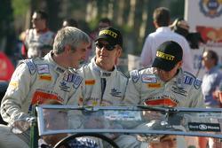Phil Bennett, Tim Mullen and Ian Mitchell
