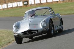 #133 1954 Alfa Romeo 2000 Sportiva, class 5: Richard Gadeselli