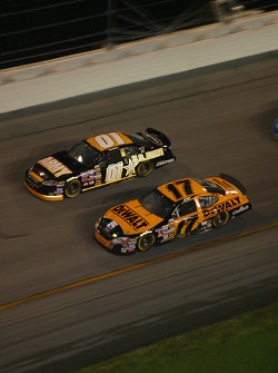 Joe Nemechek and Matt Kenseth