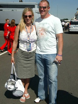 Lara Phillips and Mike Tindall