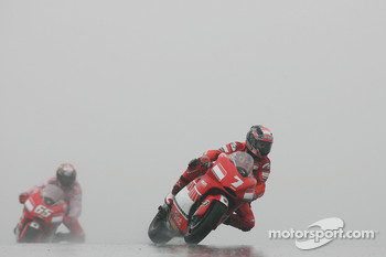 Loris Capirossi and Carlos Checa