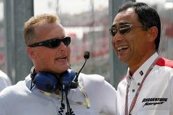 Johnny Herbert and Hiroshi Yasukawa