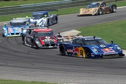 #58 Red Bull/ Brumos Racing Porsche Fabcar: David Donohue, Darren Law, #66 Krohn Racing/ TRG Pontiac Riley: Jorg Bergmeister, Christian Fittipaldi