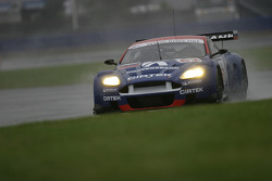 #62 Convers Team Aston Martin DBR9: Darren Turner, Nikolay Fomenko, Marc Goossens