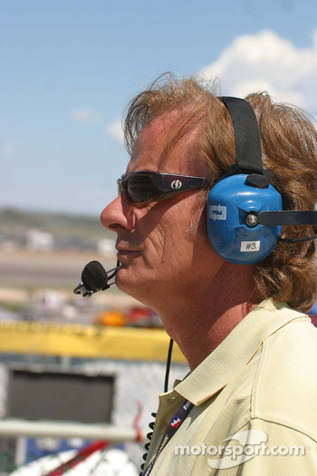Arie Luyendyk spots for his son