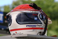 Helmet of Emanuele Pirro