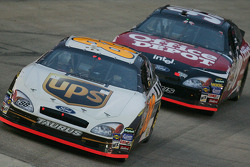 Dale Jarrett and Carl Edwards