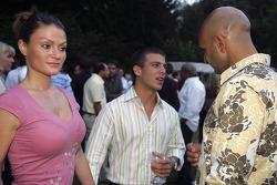 Ernesto Viso with friends