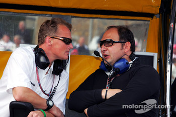 Johnny Herbert and Colin Kolles