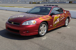 The 2006 Chevrolet Monte Carlo, pace car for the Chevy Rock & Roll 400