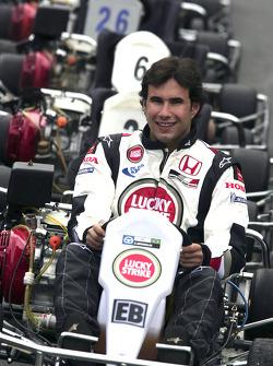 Go-kart event in Sao Paulo: Enrique Bernoldi