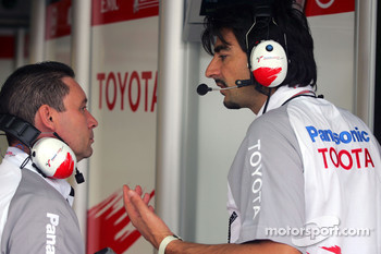 Toyota race engineer Francesco Nenci