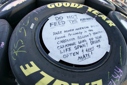 Message on a wheel
