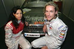 Chantal de Freitas and Sven Hannawald