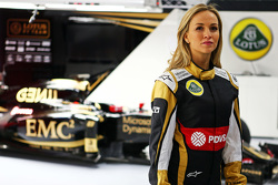 Carmen Jorda, Lotus F1 Team development driver