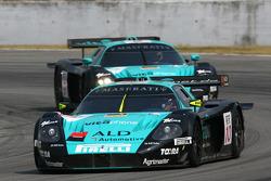 #10 Vitaphone Racing Team Maserati MC-12 GT1: Fabio Babini, Thomas Biagi