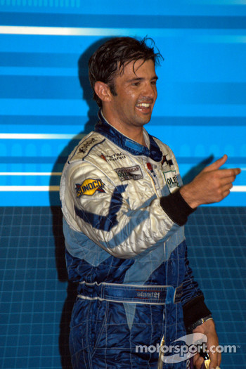 Podium: race winner Christian Fittipaldi