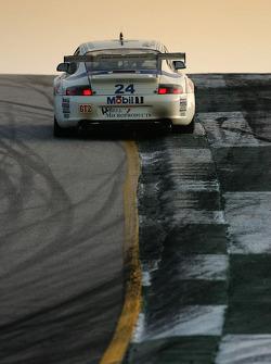 #24 Alex Job Racing Porsche 911 GT3 RSR: Emmanuel Collard, Ian Baas, Marcel Tiemann