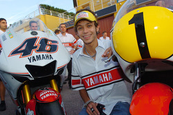 Yamaha's 50th anniversary celebration: Valentino Rossi