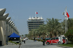 Paddock at Bahrain International Circuit