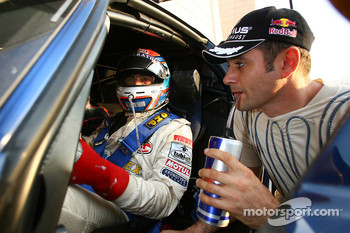 Andrea Bertolini and Karl Wendlinger