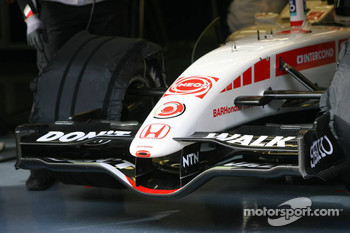 Front wing of the BAR Honda