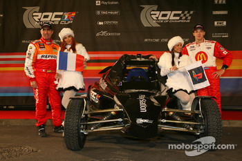 Playstation Nations Cup team Stéphane Peterhansel and Sébastien Bourdais