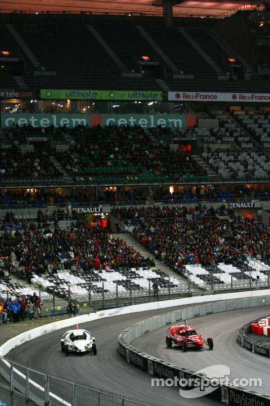 Quarter final: Tom Kristensen and Felipe Massa